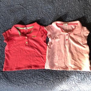 Old Navy Shirts & Tops - 2 Pack Old Navy Polo Shirts 18-24 months